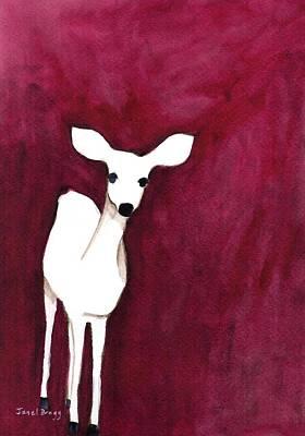 Deer On Cap Sante Art Print