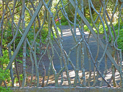 Photograph - Deer Proof Gate by K L Kingston