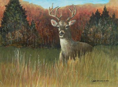 Deer Season Art Print by Robert Harrington