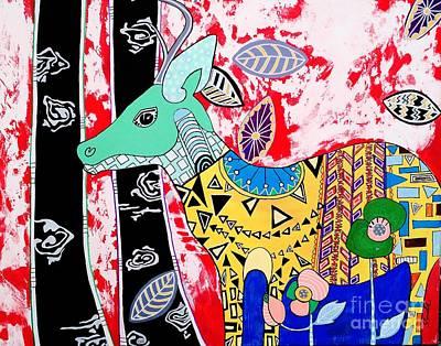 Painting - Deer Seeker by Amy Sorrell
