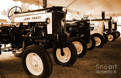 Photograph - Deere Display by Kevin Fortier