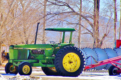 Photograph - Deere by Marilyn Diaz