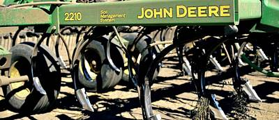 Photograph - Deere Tillage Implement by Jerry Sodorff