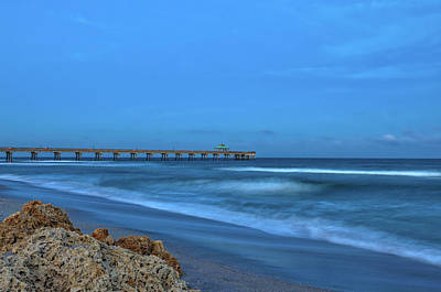 Photograph - Deerfield Beach International Fishing Pier by Juergen Roth
