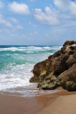 Photograph - Deerfield Beach by Judy Hall-Folde