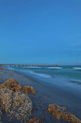 Photograph - Deerfield Beach Pier by Juergen Roth