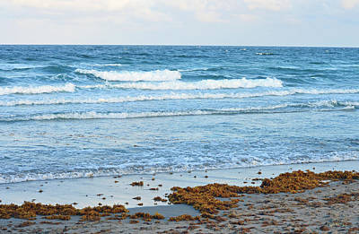 Seascape Photograph - Deerfield Beach Surf by Ken Figurski