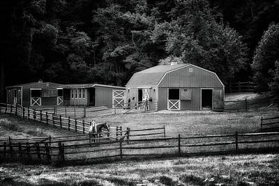 Photograph - Deerfield Farm by Mark Fuller