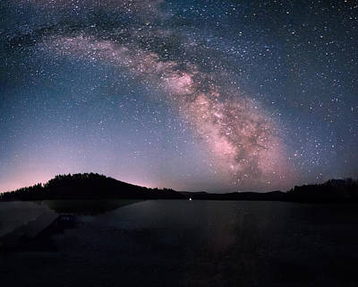 Photograph - Deerfield Lake Milky Way by Dakota Light Photography By Dakota