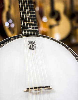 Photograph - Deering Banjo by Andy Crawford
