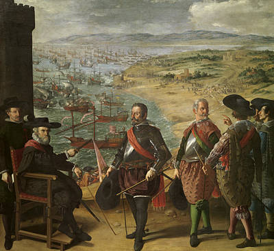 Painting - Defense Of Cadiz Against The English by Francisco de Zurbaran