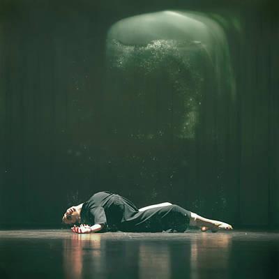 Showgirl Photograph - Defenseless by Stelios Kleanthous