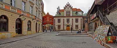 Polish Culture Photograph - Defensive Walls By Pijarska Street by Panoramic Images