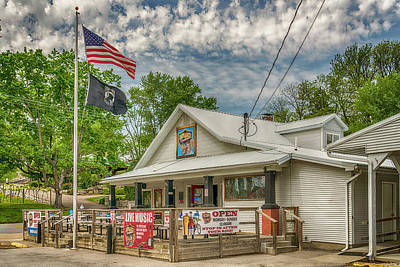 Photograph - Defiance Road House St Charles Mo 7r2_dsc6907_04262017 by Greg Kluempers