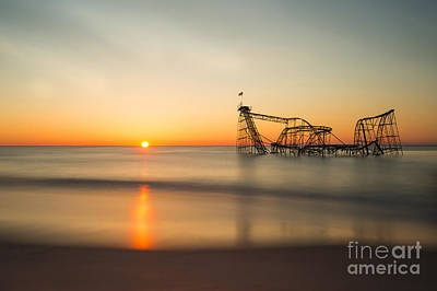 Jet Star Rollercoaster Photograph - Defining Moment by Jo Hendley