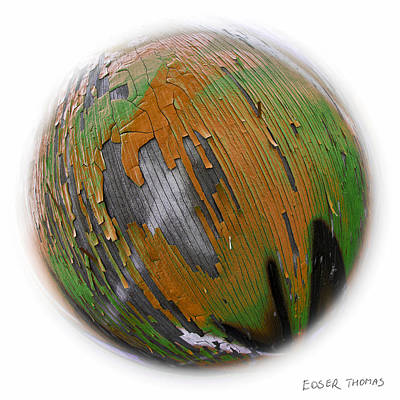 Photograph - Deforestation - Painted Earth Collection by Edser Thomas