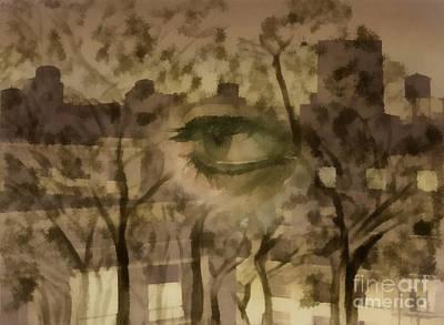 Deforestation Art Print by Santanu Karmakar