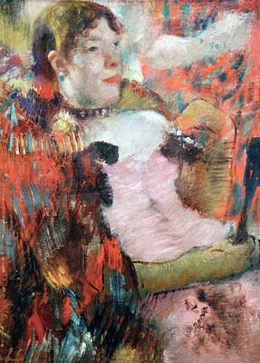 Photograph - Degas At The Cafe Concert by Marilyn Hunt