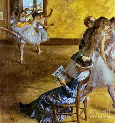 Photograph - Degas: Ballet Class, C1878 by Granger