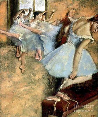 Photograph - Degas: Ballet Class, C1880 by Granger