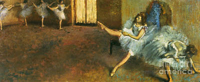 Photograph - Degas: Before Ballet, 1888 by Granger