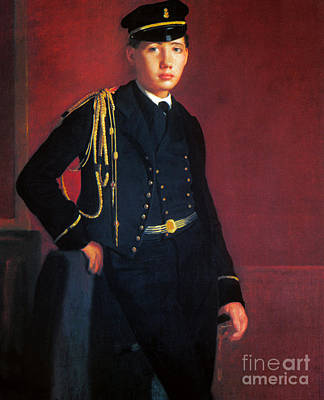 Photograph - Degas: Cadet, 1856-57 by Granger