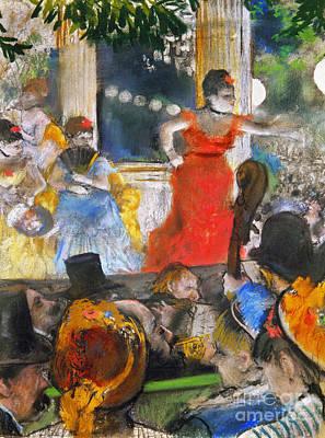 Photograph - Degas: Concert, C1876-77 by Granger
