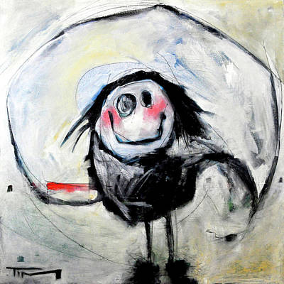 Humor Painting - Degas Dancer by Tim Nyberg