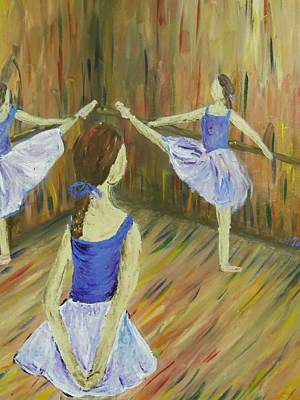 Pop Art Rights Managed Images - Degas Dancers Royalty-Free Image by Heather Burbridge