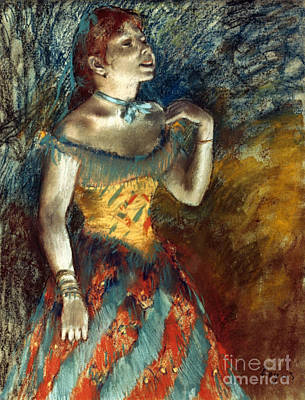 Impressionist Photograph - Degas: Singer In Green by Granger