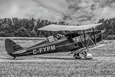 Photograph - Dehavilland Dh--83 by Guy Whiteley