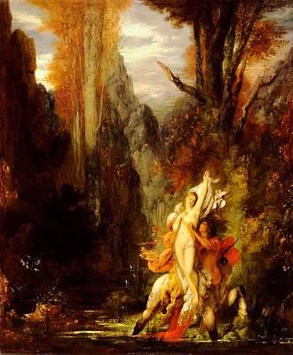 Fantasy Tree Art Painting - Deianira - Autumn by Mountain Dreams