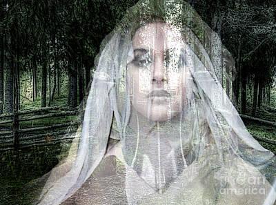 Karma Mixed Media - Deja Boo My Love by Tammera Malicki-Wong