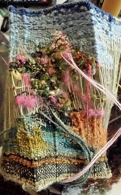 Tapestry - Textile - Deja Vu  by Brenda Berdnik