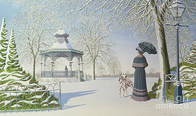 Bandstand Painting - Deja Vu by Peter Szumowski