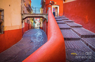 Guanajuato Photograph - Del Campanero by Inge Johnsson