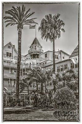 Photograph - Del Coronado Tower by David Zanzinger