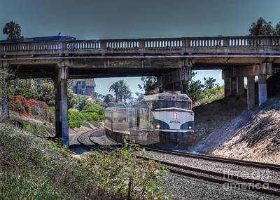 Photograph - Del Mar Amtrak by Dusty Wynne