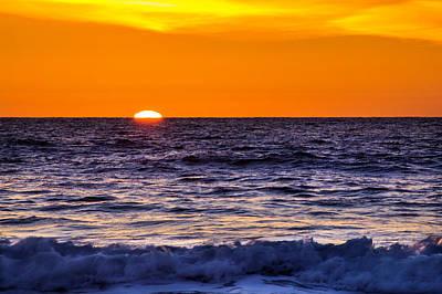 Photograph - Sunset - Del Mar, California, View 2 by Randy Bayne