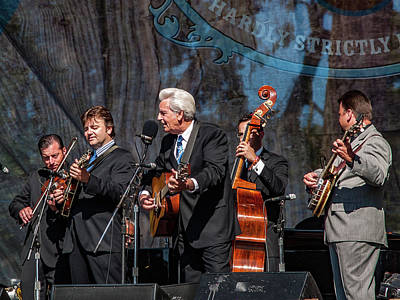 Photograph - Del Mccoury Band by Bill Gallagher