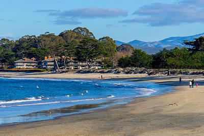 Photograph - Del Monte Beach by Derek Dean