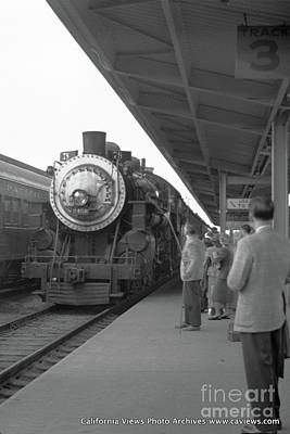 Photograph - Del Monte Express Circa 1957 by California Views Mr Pat Hathaway Archives