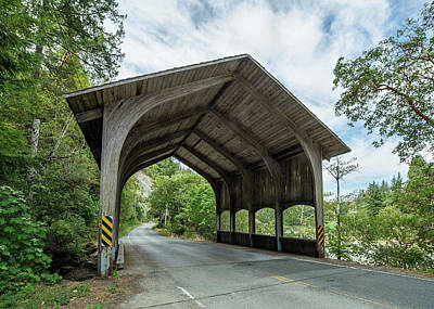 Photograph - Del Norte Covered Bridge 1 by Greg Nyquist