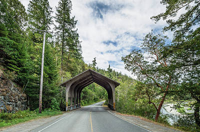 Photograph - Del Norte Covered Bridge 2 by Greg Nyquist