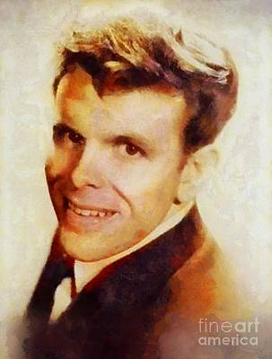Music Paintings - Del Shannon, Music Legend by Esoterica Art Agency