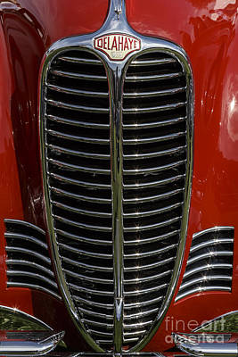 Photograph - Delahaye 135m by Dennis Hedberg