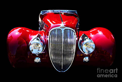 Delahaye Reinterpreted Art Print by Wingsdomain Art and Photography
