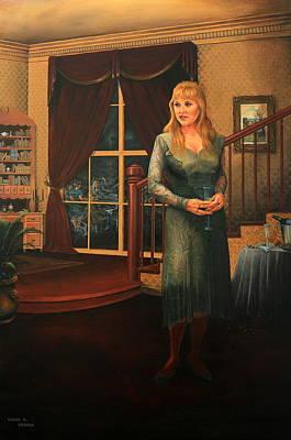 Painting - Delaina by Duane R Probus