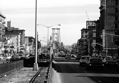 Photograph - Delancey Street New York City by John Schneider