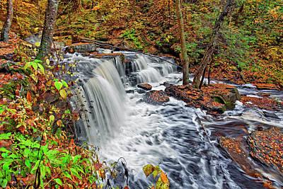 Rivers Photograph - Delaware Falls by Marcia Colelli